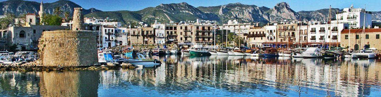 Panoramic view of Kyrenia - Cyprus