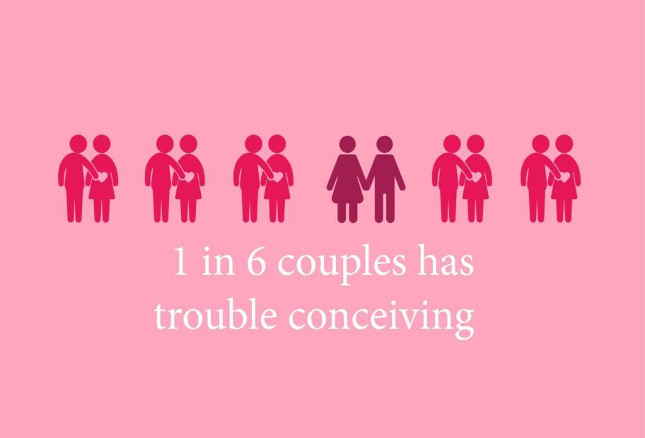 Couples conceiving rates