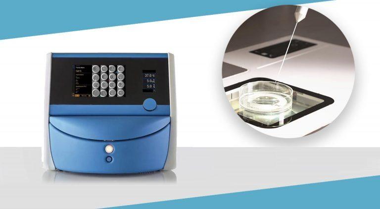 Εικόνα εξοπλισμού εμβρυοσκοπίου και συστήματος ελέγχου RI Witness
